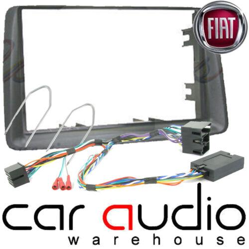 Autoleads DFP-01-06 Fiat Panda 2003 On Car Stereo Double Din Fascia Stalk Keys