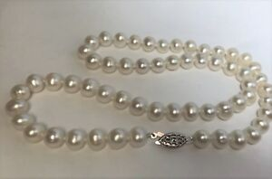 Natural-7-8mm-Pearl-Beaded-Necklace-18-in-L