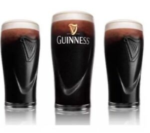 4-X-Guinness-Embossed-Harp-Pint-Glases-20oz-Brand-New-100-Genuine-CE