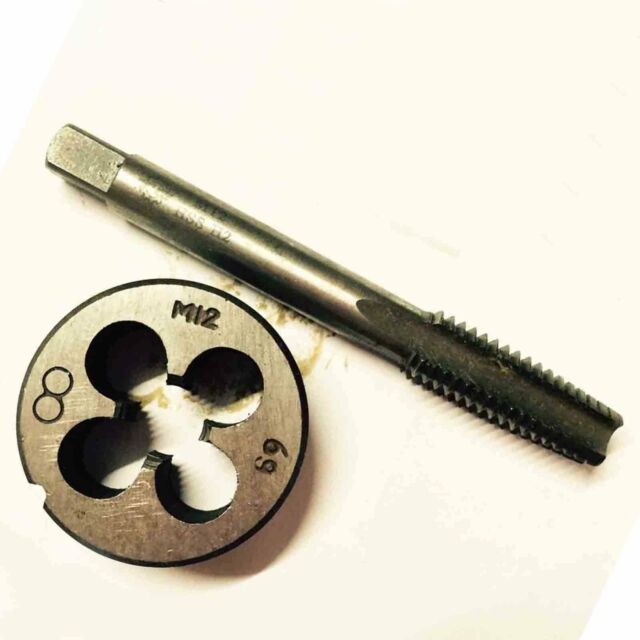 HSS M21 × 0.75 mm Plug Tap Die Threading Tool for Machine