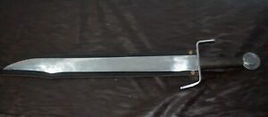Heavy-Thick-Middle-Age-Falchion-Sword-Wish-S-shaped-Guard