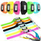 Hot Digital LCD Pedometer Wrist Step Run Walking Distance Calorie Counter Watch