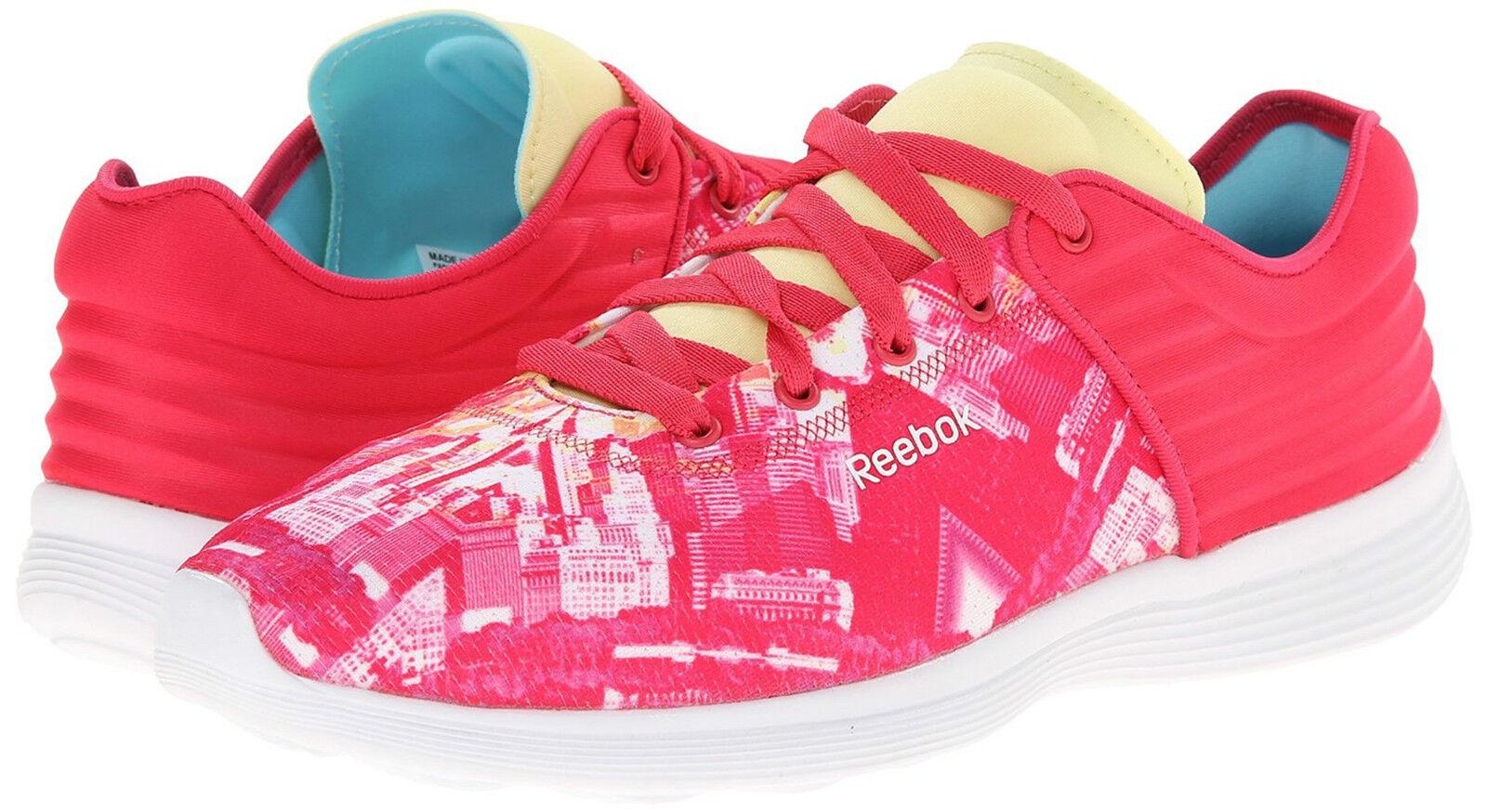 Nuevo Mujer Reebok Skyscape Fusible Tenis Deportivas zapatos zapatos zapatos 8 M Amarillo rosado Eu 38.5  nuevo sádico