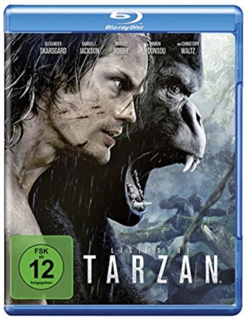 Blu-ray * Legend of Tarzan Blu-ray * NEU OVP * Alexander Skarsgard