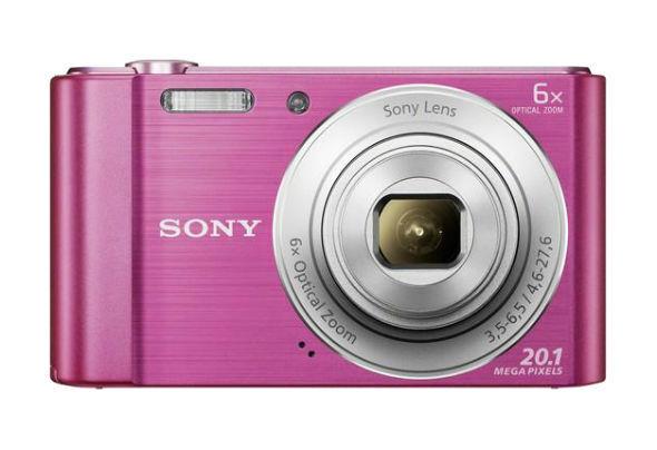 Sony Cyber-Shot DSC-W810 PINK  20,1 MP Digitalkamera -    (Me4)