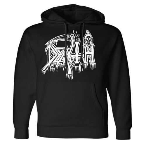DEATH Classic Logo Pullover Hoodie NEW Relapse Records SS4155