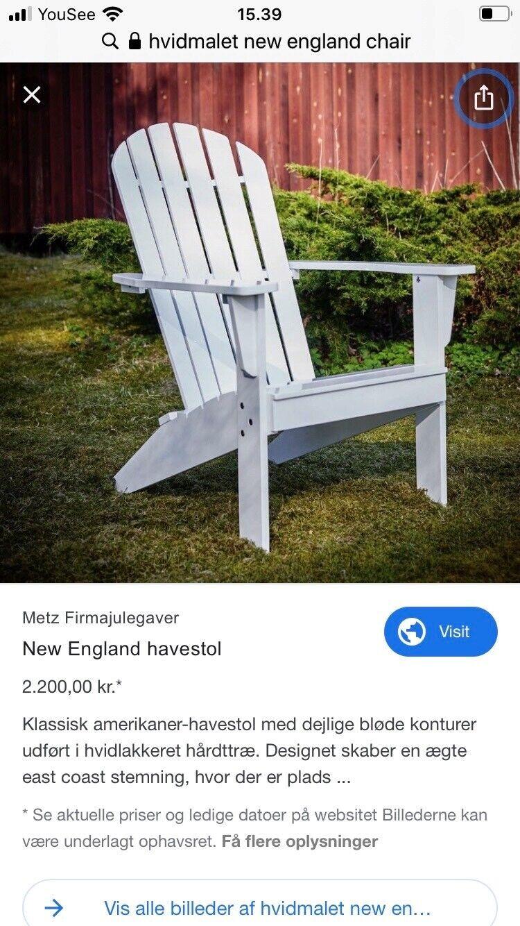 Havestol, New England Chair