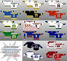 HIGH QUALITY, PROFESSIONAL HOCKEY JERSEYS - We customize for your team!