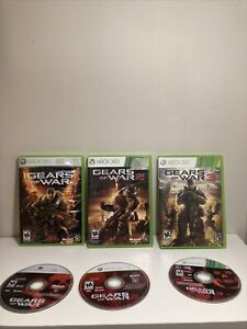 Gears of War Bundle 1 2 and 3 Xbox 360 Game Bundle