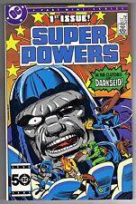 SUPER POWERS 2 #1 - JACK KIRBY ART & COVER - DC COMICS - 1985