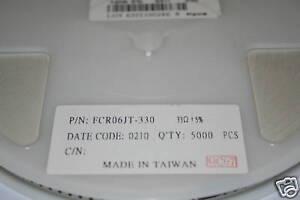 resistor Bobine Résistance 1206 1.8 Ohm 5/% CMS SMD FCR06JT 1R8