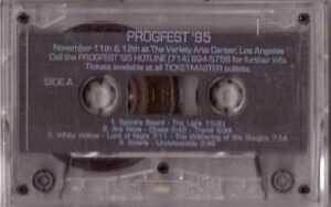 SPOCK-S-BEARD-Ars-Nova-WHITE-WILLOW-Solaris-LANDBERK-Progfest-95-Samplr-CASSETTE