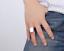Anello-Fede-a-Fascia-Uomo-Donna-Unisex-Acciaio-Inox-Steel-Nero-Black-Incisione miniatura 17