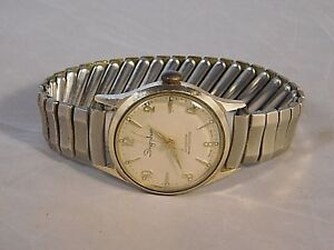 Details about VINTAGE INGRAHAM SWISS MADE WATCH GERMANY CASE WORKING