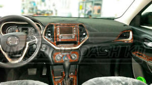 Image Is Loading JEEP RENEGADE LATITUDE INTERIOR BURL WOOD DASH TRIM