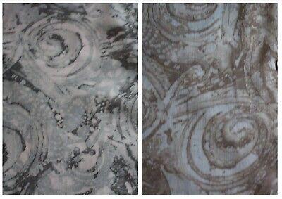 "100/% Polyester High Grade Crinkle Chiffon Floral print Fabric £3.99//m 1.50m//59""w"