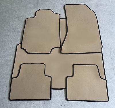 Velours beige Fußmatten passend für ALFA ROMEO 159 ab 2005