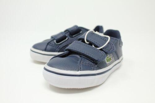 Lacoste Fairlead WW SPI # 7-28SPI2045DB4 Navy Toddler Velcro Sneaker