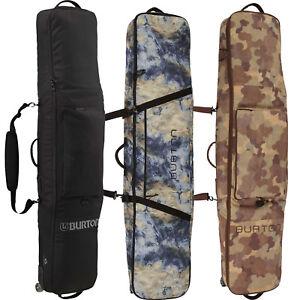 Details About Burton Wheelie Gig Bag Snowboard Rolling Carrying