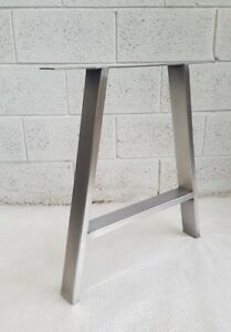 2x-Table-A-legs-Metal-Steel-Rustic-Industrial-034-The-039-A-039-Leg-034-Made-in-England