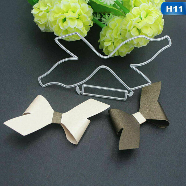 Lot Metal Bow Knot Die Cuts DIY Scrapbooking Paper Craft Cutting Dies Wxm Rmlt
