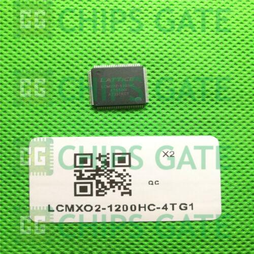 TQFP100 1PCS NEW LCMXO2-1200HC-4TG100I LATTICE D//C:17