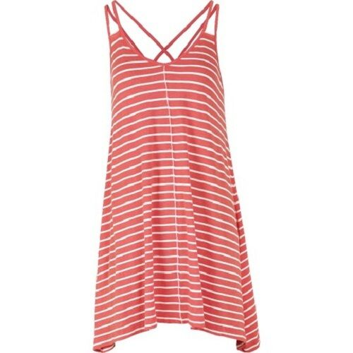 BNWT Longline Stripe Swing Top Women/'s Fat Face 50/% Cotton Coral