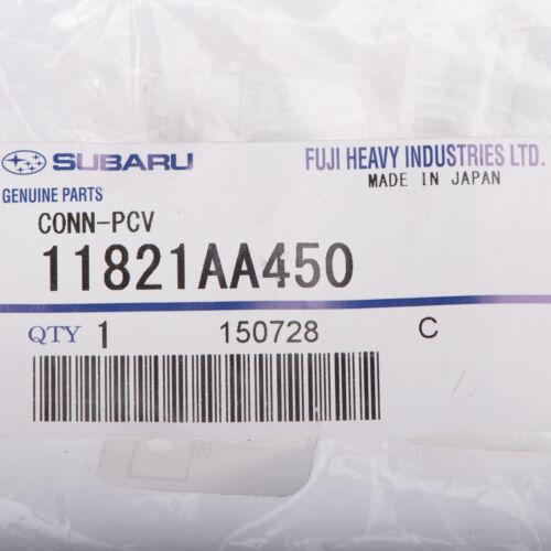 OEM 1994-2002 Subaru PCV Hose Connector Forester Impreza Legacy NEW 11821AA450