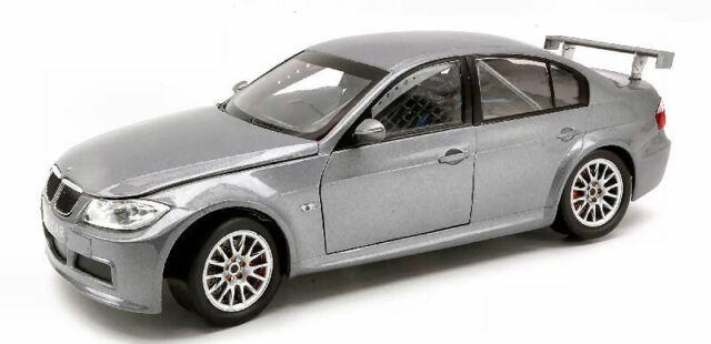Bmw 320 Si Wtcc Test Car Silver 1:18 Model GUILOY