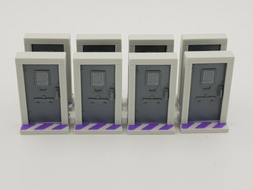 Zombicide Prison Outbreak 3D Hinged Prison Cell Doors /& Switches