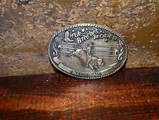 17788 Tony Lama Collection Little Britches Rodeo BULL RIDING Brass  Belt Buckle