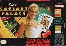 Super Caesar's Palace (Super Nintendo)Video Game -  - LOOSE