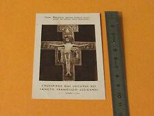 CHROMO 1920-1930 CATHOLICISME IMAGE PIEUSE HOLY CARD CHRIST JESUS CRUCIFIX