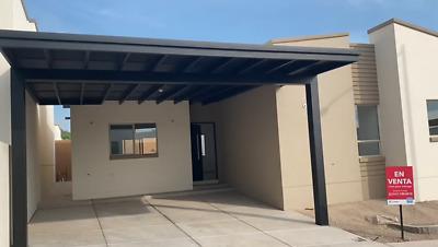 Casa venta NUEVA un piso área común con alberca al norte de Hermosillo