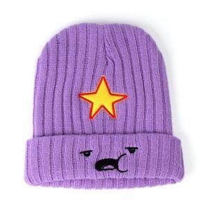 Adventure-Time-Beanie-Lumpy-Princess-Purple-Star-Fan-Beanie-Finn-Jake-BMO