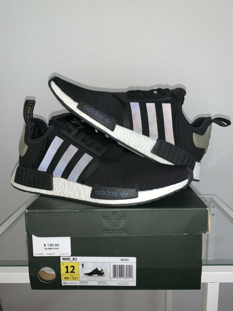 online retailer 1de22 6bc84 Adidas NMD R1 BA7251 Shoes (Black; Size 12 - BRAND NEW w/ Box