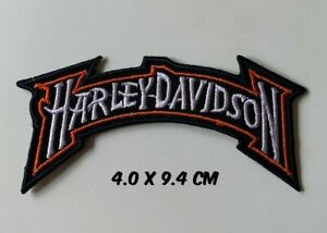 Harley Davidson Patch Embroidered Motorcycle- Sew on Iron on Embroidered- Patch