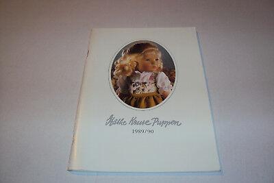 Diplomatisch Katalog / Prospekt 1989 / 90: Käthe Kruse Puppen 60seiten Geeignet FüR MäNner Und Frauen Aller Altersgruppen In Allen Jahreszeiten