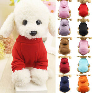 Pet-Coat-Dog-Jacket-Cat-Warm-Coral-Fleece-Clothing-Hoodie-Clothes-Puppy-Apparel