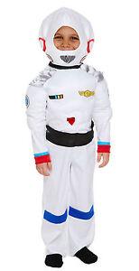 Spaceman Kids Astronaut Fancy Dress Space Man Costume Jacket /& Helmet Book Week