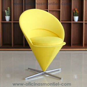 VITRA-Original-Cone-Chair-YELLOW-COLOR-Verner-Panton-1958