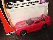 MATCHBOX DODGE VIPER GTSR CONCEPT METAL DIECAST 1:64 RARE RED