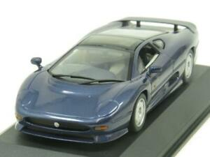 Minichamps-430-102220-Jaguar-XJ-220-Azul-Metalico-1-43-ESCALA-en-Caja