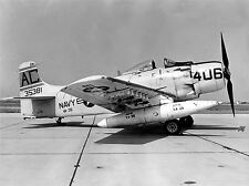 MILITARY AIR PLANE FIGHTER JET SKYRAIDER POSTER ART PRINT HOME PICTURE BB1108A