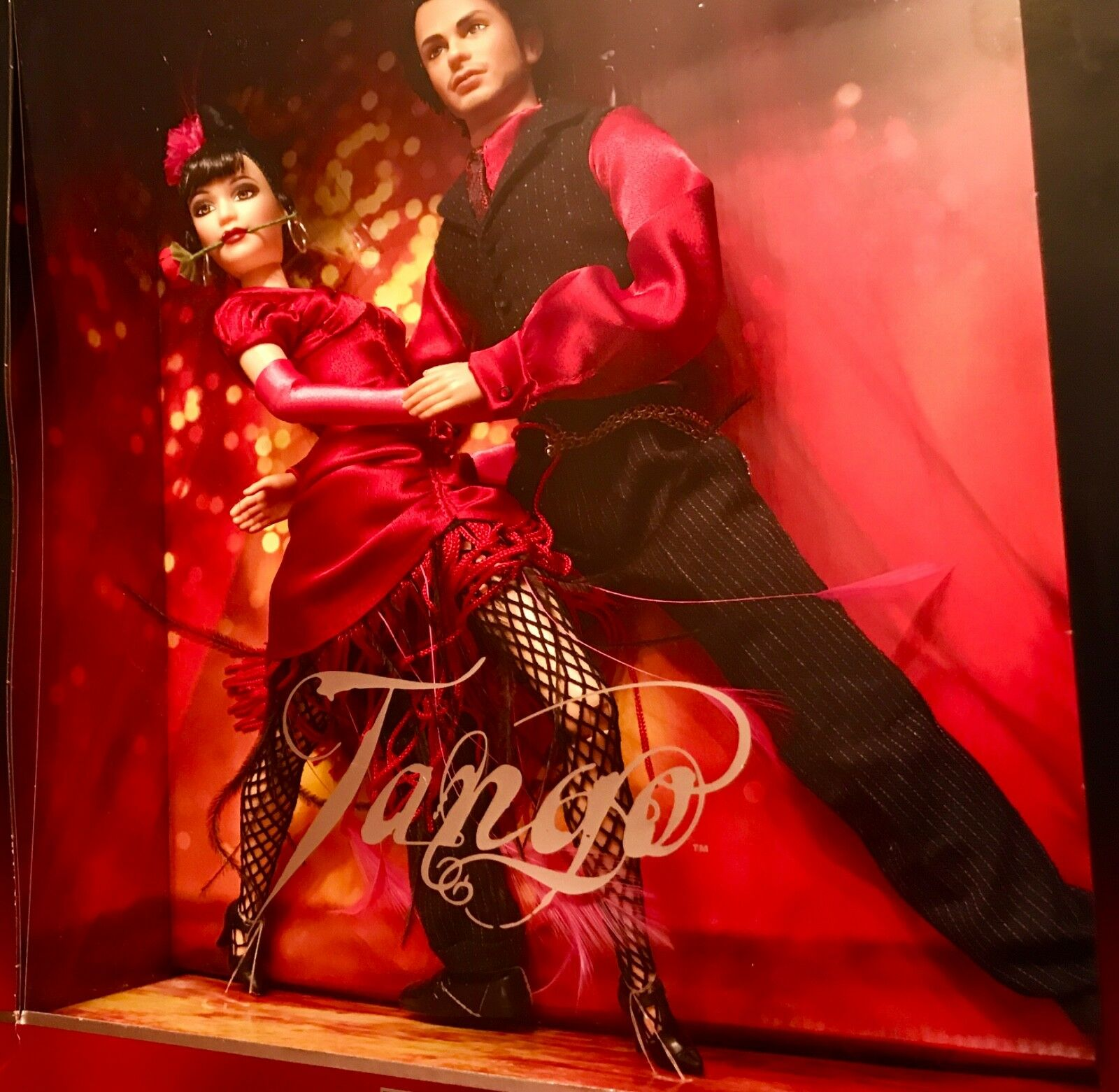 Barbie Giftset  TANGO from FAO black  2002 NRFB