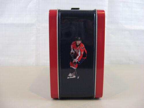2014 Washington Capitals 365 Red Season Ticket Holder Collectors Metal Lunch Box