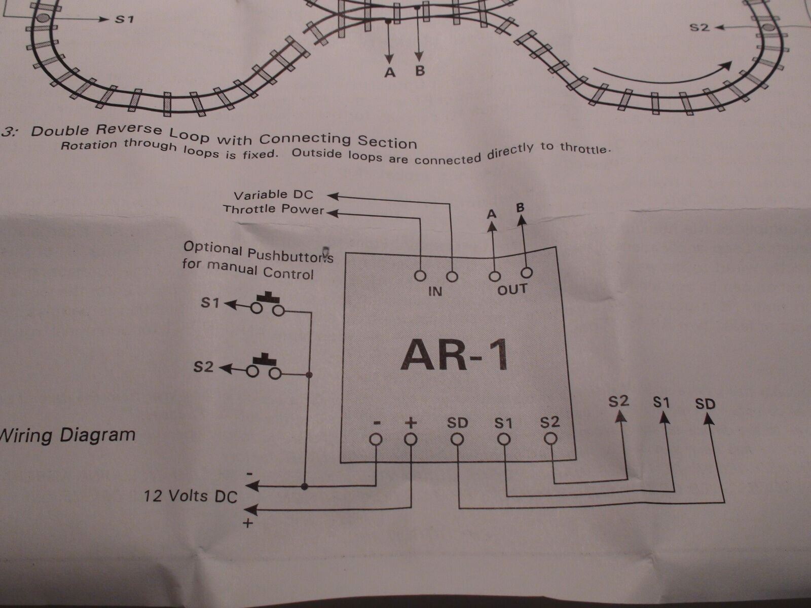 Model Railroading Automatic Reverse Circuit By Circuitron Ar 1 Ebay Dcc Bdl 168 Wiring Diagram