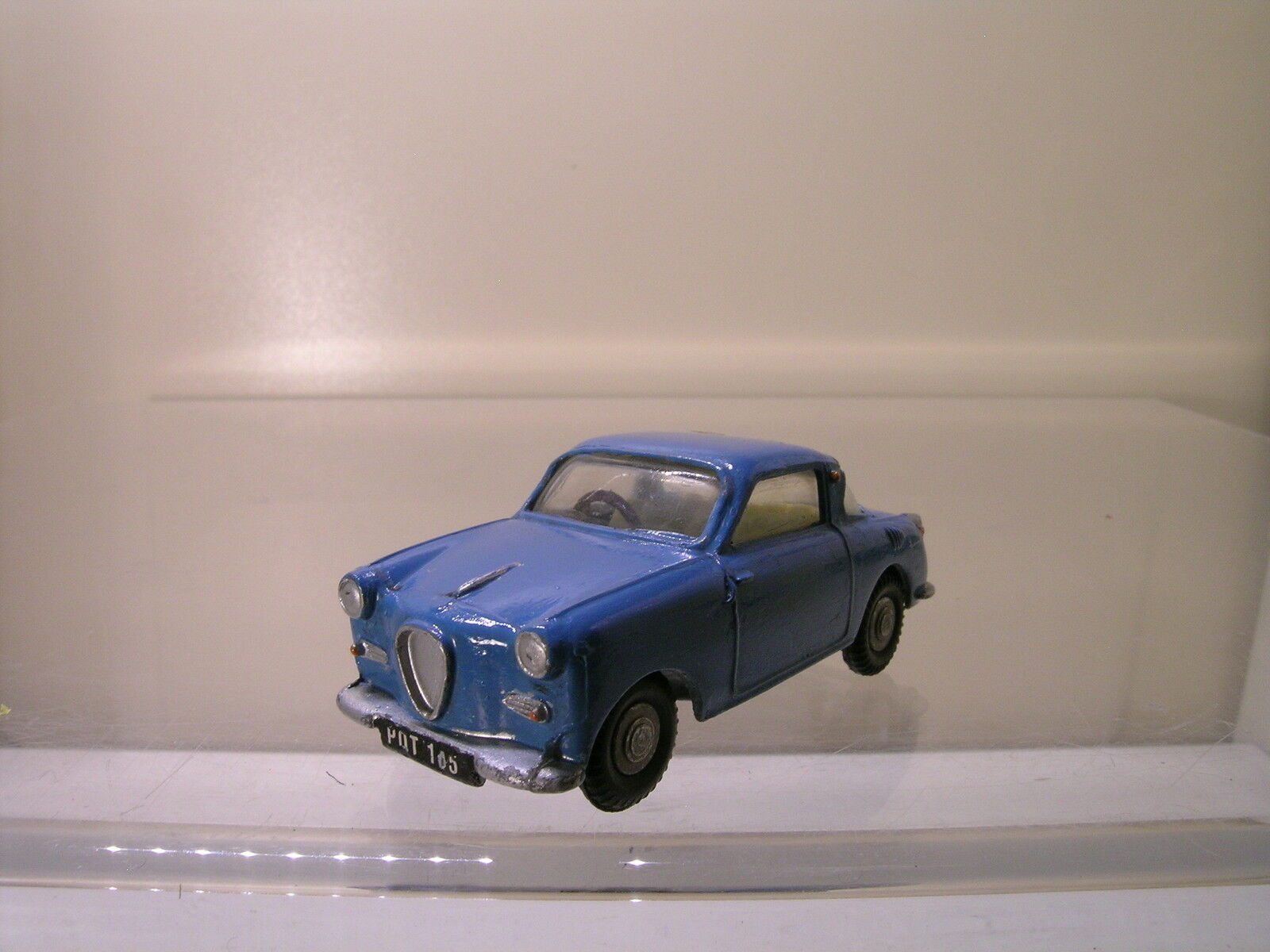 SPOT-ON  TRI-ANG 131 1960 GOGGOMOBIL SUPER REGENT blueE REPAINT SCALE 1 42