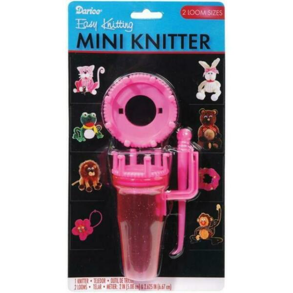 Pink Darice Mini Loom Kit