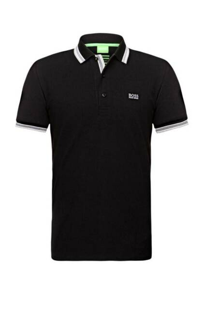 a77b94a72 Boss Green Paddy Navy Men's Short Sleeve 100 Cotton Polo 50198254 ...